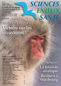 Sciences Enjeux Santé n°82 – Septembre 2016