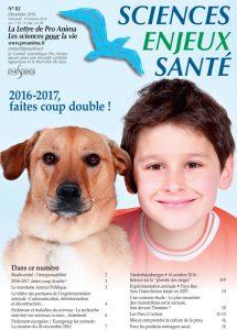 Sciences Enjeux Santé n°83—Décembre 2016