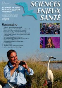 Sciences Enjeux Santé n°91—décembre 2018