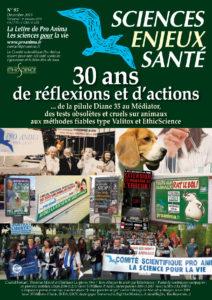 Sciences Enjeux Santé n°95 – décembre 2019