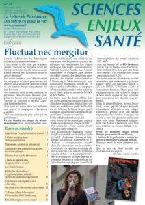 Sciences Enjeux Santé n°79—décembre 2015